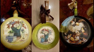 How to decorate old pans |Decoupage old pans| Kitchen decor
