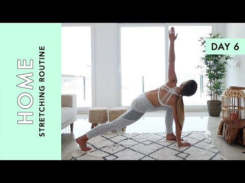 Day 6: Stretching Routine - At Home (Quarantine Edition)