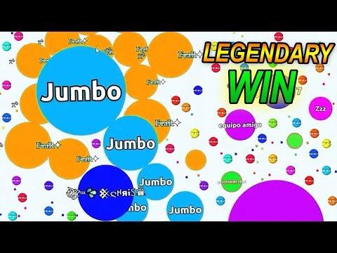 AGAR.IO NEW LEGENDARY WIN - Agario Gameplay thumbnail