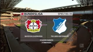 BAYER LEVERKUSEN - TSG 1899 HOFFENHEIM I BUNDESLIGA Highlights