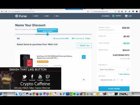Arbitrage Amazon with Bitcoin