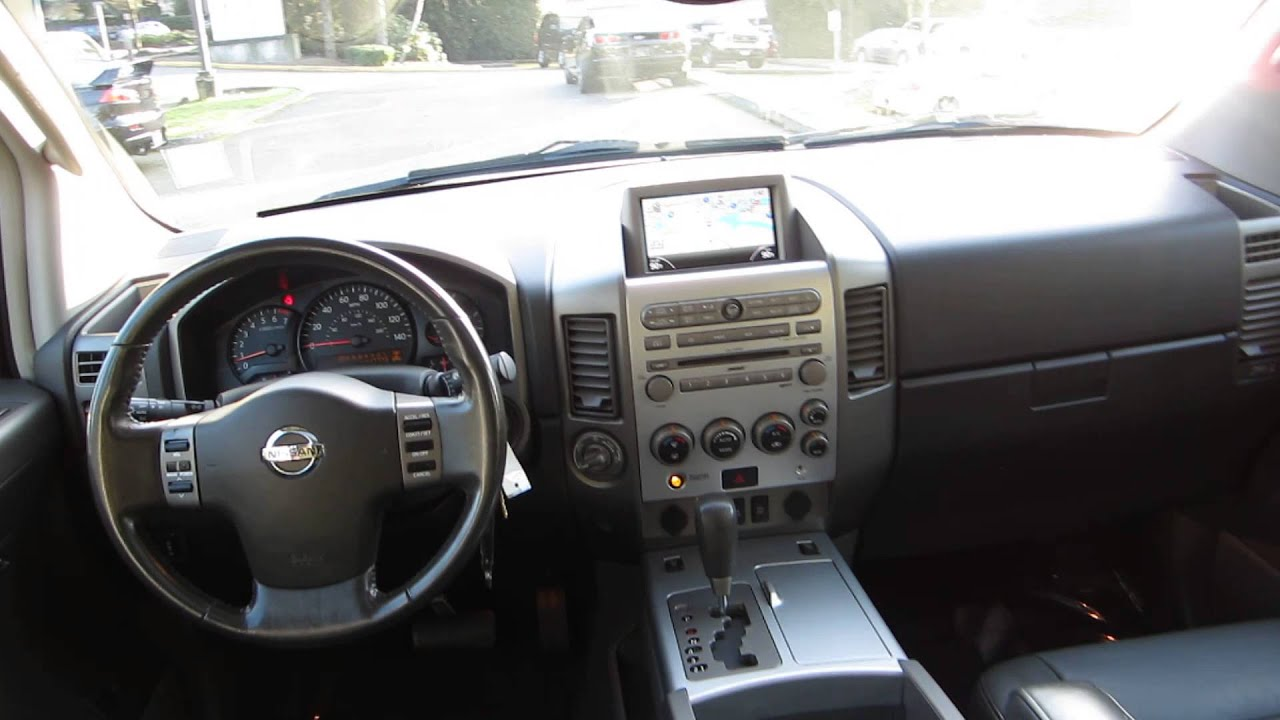 2005 Nissan Armada Deep Water Blue Stock 13570a Interior Youtube
