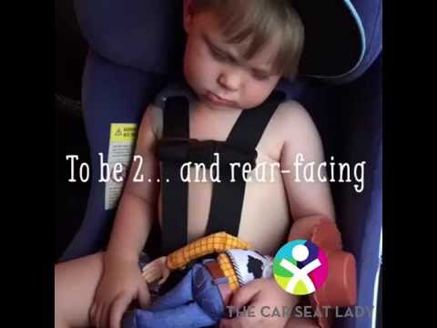 Baby's Legs and Rear-Facing Vehicle Seat Safety