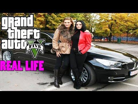 MAFIA CAR ALEASA DE VOI | GTA REAL LIFE