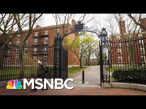 Harvard, Princeton Roll Out Plans For Fall Amid Trump Pressure To Reopen | All In | MSNBC