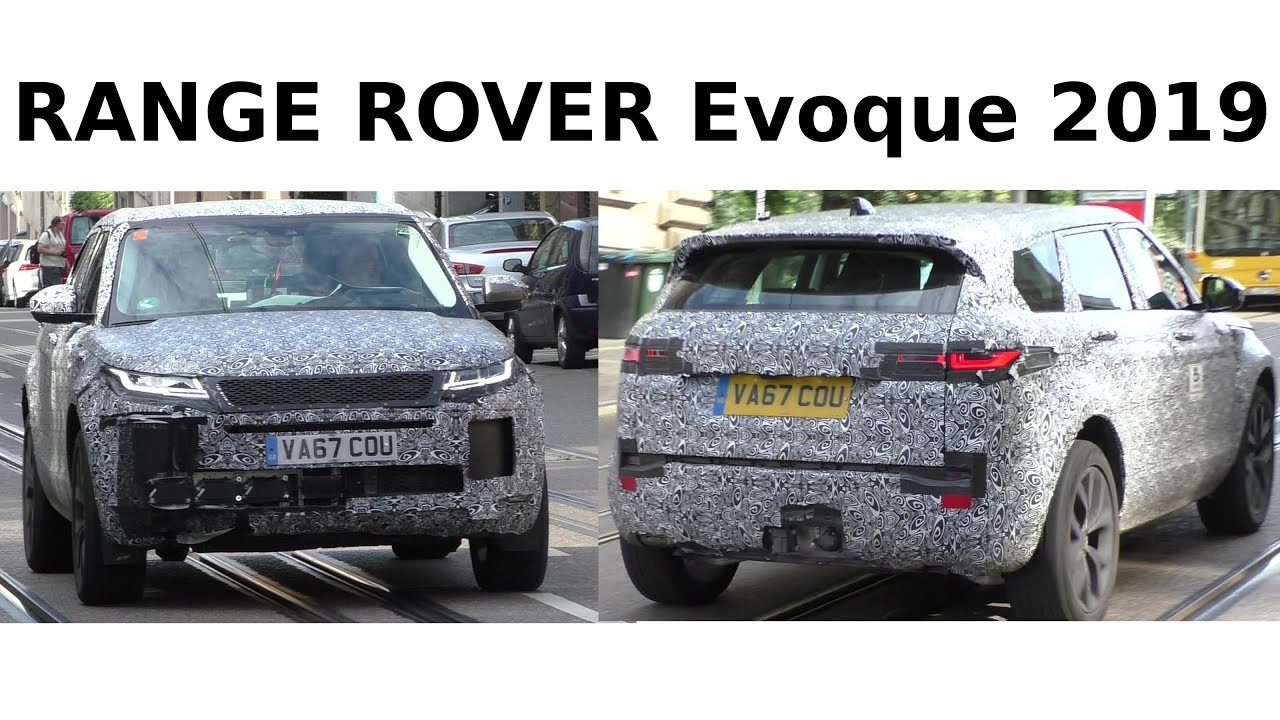 Erlkonig Prototype Range Rover Evoque 2019 On The Road Auf Der