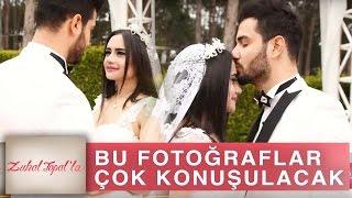 Zuhal Topal'la 169. Bölüm (HD) | Ali ve Naz'ın Gelin - Damat Fotoğrafları Stüdyoya Bomba Gibi Düştü!