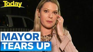 Coronavirus: Mayor in tears as suburb goes back into lockdown | Victoria