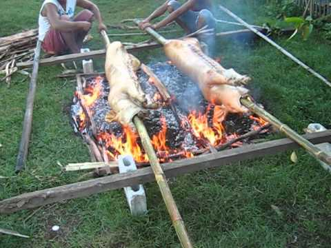cook pig  Nailon Bogo Cebu
