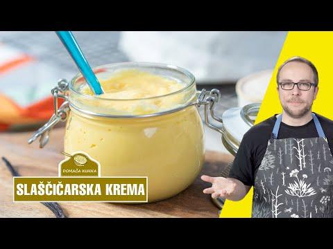 Slaščičarska vanilijeva krema