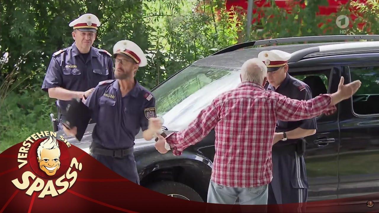 Die lustige Polizeikontrolle - Teil 2 - Verstehen Sie Spaß?