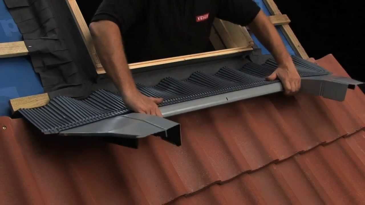 VELUX New Generation Roof Window Standard Installation Into Tile on