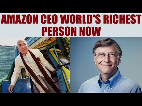 Amazon founder: Jeff Bezos becomes world's richest person | Oneindia News