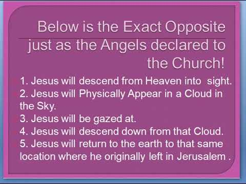 537d663a8a For the Rapture to happen Jesus MUST Come back in the same Manner He left