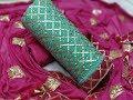 Gota Patti Work Salwar Suit With Chiffon Dupatta || Gota Patti Chanderi Patiala Salwar Suit