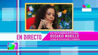 Comunicación con la Vicepresidenta Compañera Rosario Murillo, 20 de agosto de 2019