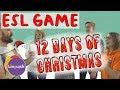 Linguish ESL Games // 12 days of Christmas // LT84