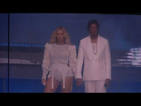 Beyoncé - Opening + Holy Grail (On The Run Tour II live in Paris, France)