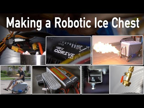 Building the Robotic Ice Chest