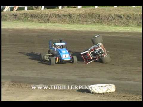 ASCS2 Non-Wing Caney Valley Speedway 6-21-09 Highlights