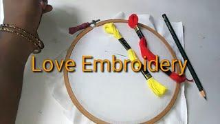 Love embroidery Malayalam