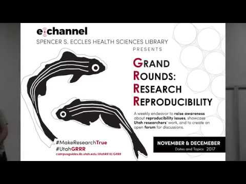 Grand Rounds: Research Reproducibility 11-07-2017 with Robert Ricci