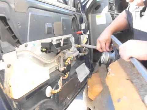 door handle repair 850 - YouTube