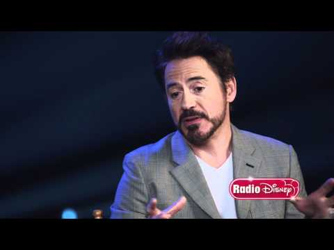 "Robert Downey Jr. and Calum Worthy ""The Avengers"" Preview 