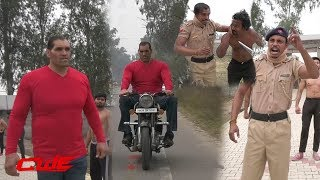 CWE |   Singham  Dubey  trained all CWE students for upcoming CWE shows