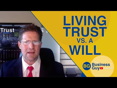 What is a Living Trust vs. a Will