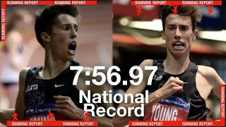 Nico Young Keeps BREAKING RECORDS | 7:56.97 3K National Record