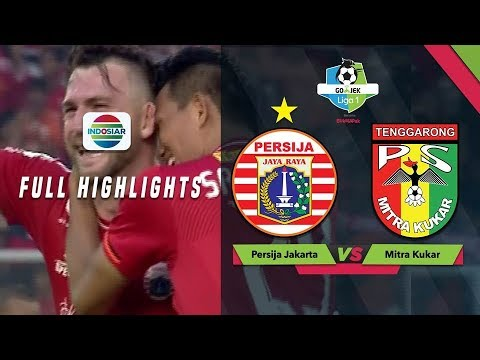 Persija Jakarta (2) vs (1) Mitra Kukar - Full Highlight | Go-Jek Liga 1 bersama Bukalapak