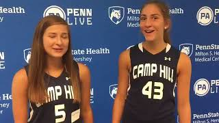 Camp Hill players at PennLive field hockey media day 2017