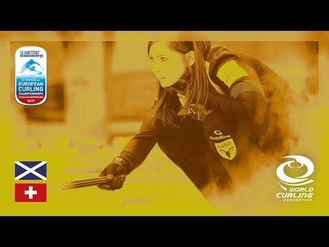 Scotland v Switzerland - Women's Round-robin - Le Gruyère AOP European Curling Championships 2017