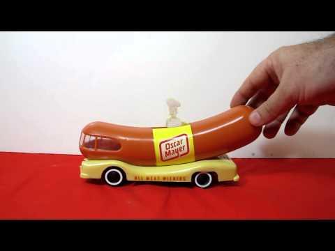 Oscar Mayer Wienermobile Toy Working