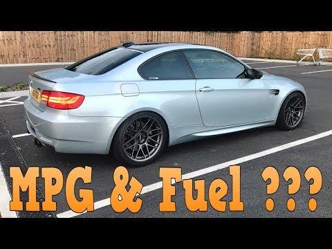 What Fuel Do I Use & What MPG Do I Get? (BMW E92 M3 Fuel Economy)
