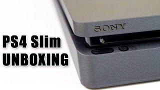 PS4 Slim : notre UNBOXING avec une manette surprise !