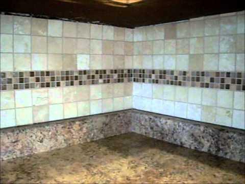 kitchen backsplash travertine glass tile youtube rh youtube com White Sandstone Tile Backsplash Kitchen Tile Backsplash Gallery