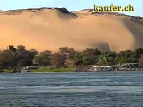 """Download Ã""""gypten  Nubisches Dorf am Nil   Egypt"""