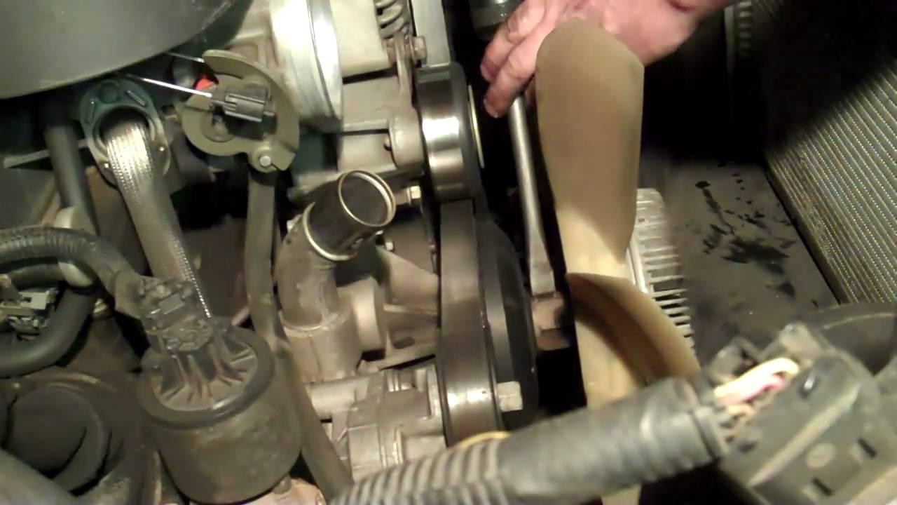 medium resolution of chevy truck water pump