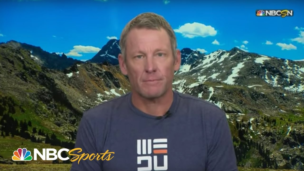 Lance Armstrong: Geraint Thomas will take yellow jersey | 2019 Tour de France | NBC Sports