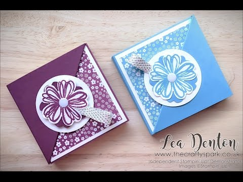Stampin' Up! Cute Post It Note Holder Video Tutorial