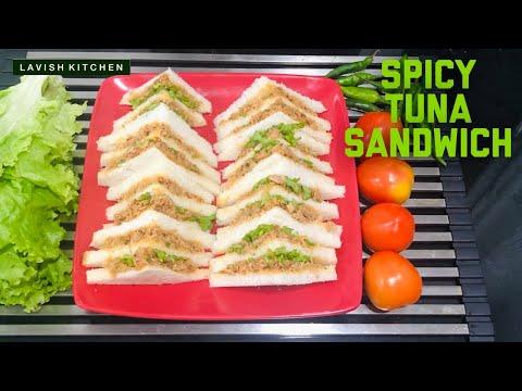 Spicy Tuna Sandwhich | Tiffin Recipe