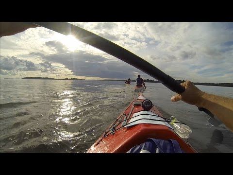 Kayaking to Kallskär - Stockholm Archipelago