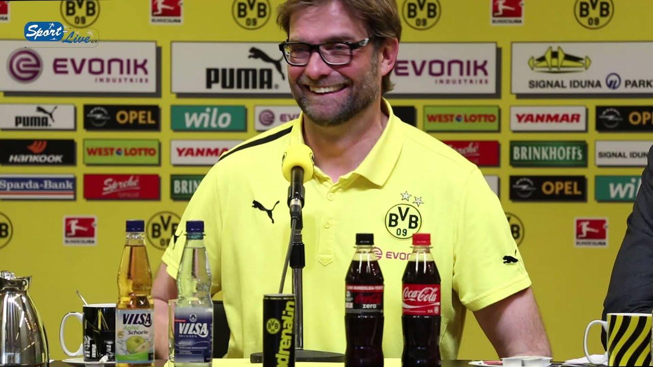 BVB Pressekonferenz vom 20. April 2013 nach dem Spiel Borussia Dortmund gegen FSV Mainz 05