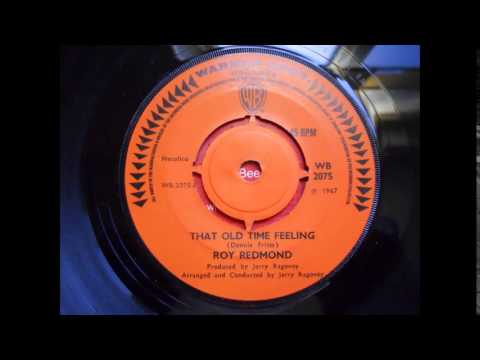 Roy Redmond - That Old Time Feeling