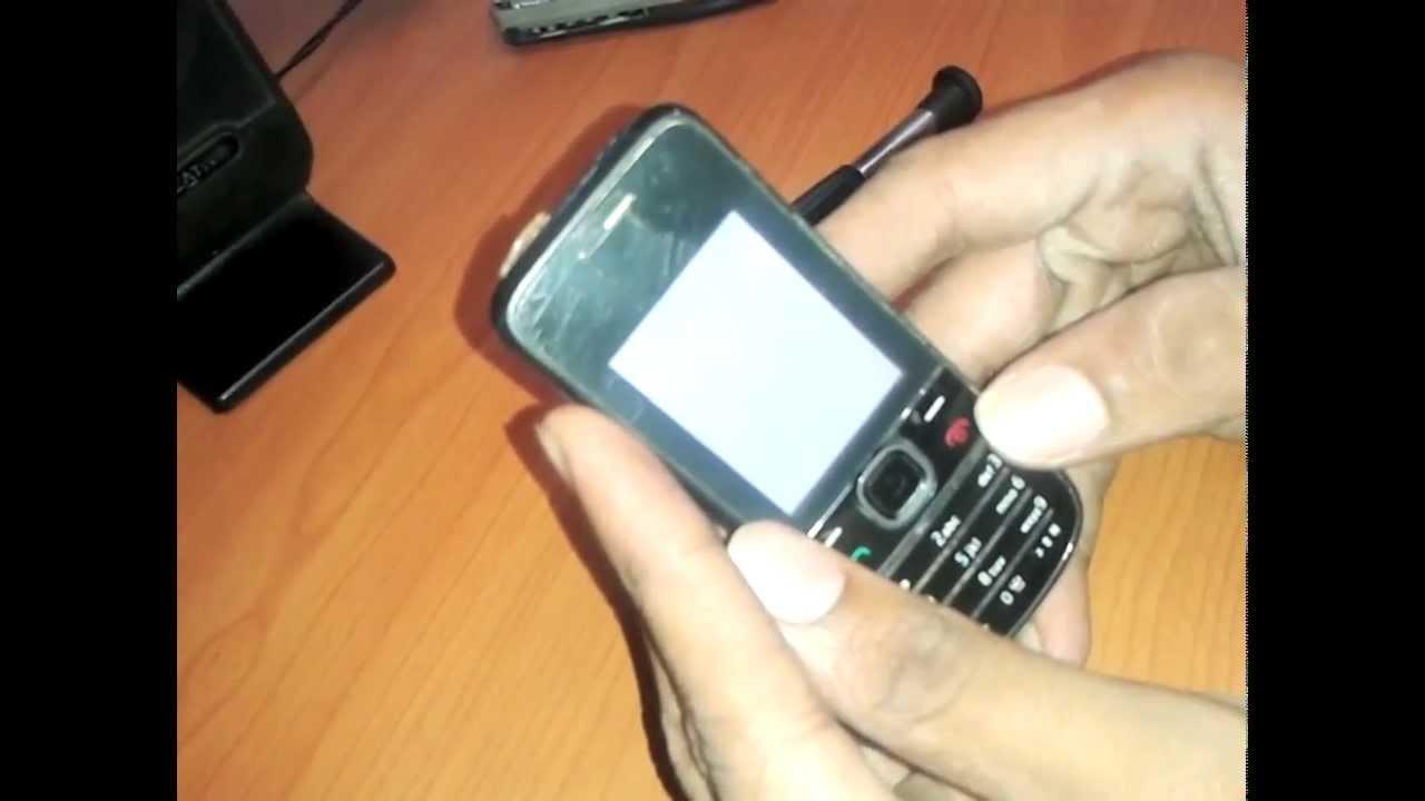 Nokia 2700c Logo Then White Screen Youtube Circuit Diagram Of C2 01