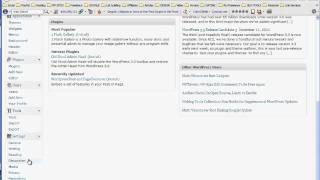 Как создать свой сайт, видео- 2, обзор панели управления