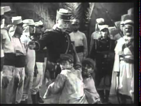 "Ronald Colman and William Powel - ""Savage Cruelty!"" -From BEAU GESTE (1926)"