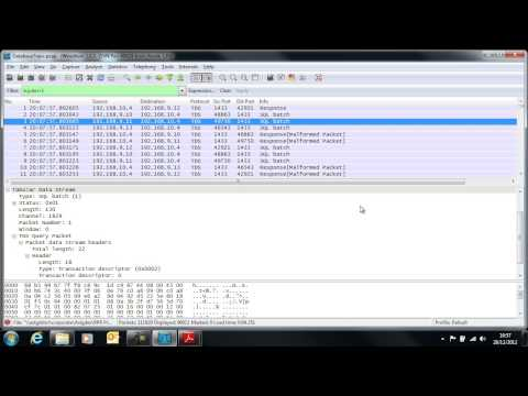 RPR NA03: Analysing SQL Server performance using Wireshark and Excel - Part 1